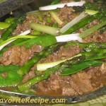Beef Asparagus Stir-fry
